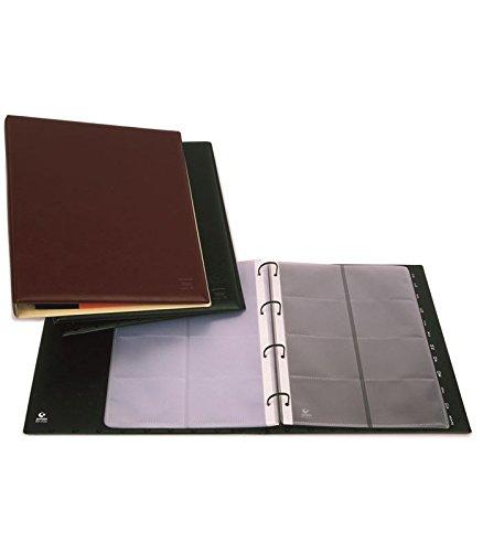 Grafoplas paquete de 10 fundas de recambio para tarjetero executive.8 tarjetas por funda.
