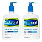 Cetaphil Gentle Skin Cleanser, Non-comedogenic 20 Fl Oz (Pack of 2)