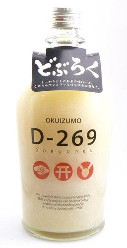 奥出雲酒造『D-269 どぶろく』