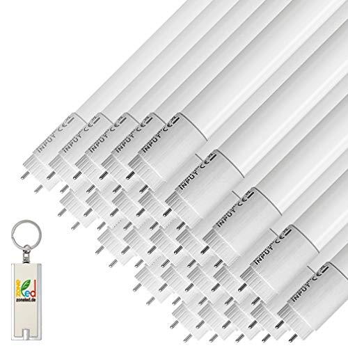ZONE LED SET - 150cm - 22W - LED Röhren - 2000 Lm - Entspricht 58W - Abstrahlwinkel 160° - Weisses Licht (6400K) - 25-er Pack
