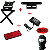 Compatible con SHERCO SSDT Limited Edition Kit para moto portamatrículas deportivo + soporte catar matrícula + antirreflectante + luz matrícula Lampa 4 artículos universales todos homologados