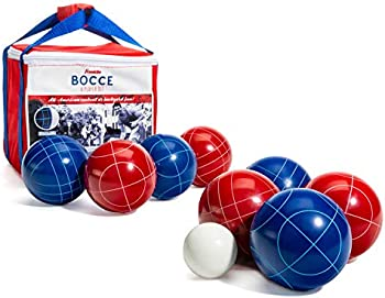 Franklin Sports Red, White and Blue Bocce Set