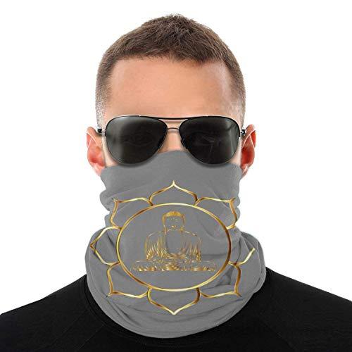 Nother Zen - Máscara antiviento para asiento de meditación, diseño de Buda