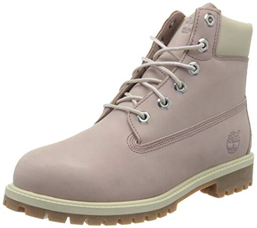 Timberland Unisex-Kinder 6 Inch Premium Waterproof (Junior) Klassische Stiefel, Violett (Medium Purple Nubuck), 36 EU