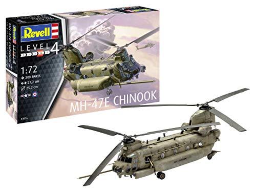 Revell REV-03876 MH-47 Chinook, Hubschraubermodell Modelmaking, 1:72/27,2 cm, 1/72