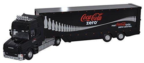 Oxford Scania T Cab Caja Trailer - Coke Zero