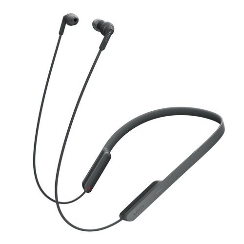 Sony Premium Bluetooth Wireless Extra Bass Sports in-Ear Behind-The-Neck Design Noise-Canceling Headphones