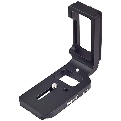 [MENGS] D750 L字型のクイックリリースプレート, Nikon D750カメラ用。