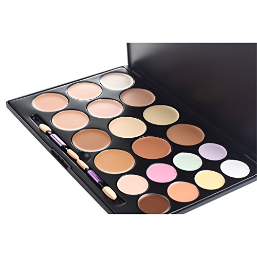 Pure Vie® Professionale 20 Colori Correttore Cosmetico Camouflage Palette Trucco - Adattabile a Uso Professionale che Privato