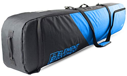 Element Equipment Deluxe Padded Snowboard Bag - Premium High End Travel Bag Blue Ripstop 165