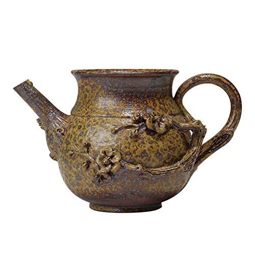 LANGPIAOEZU Diseño Conveniente Retro Hecho a Mano Chino de Kung Fu Taza de cerámica de la cerámica de té Vasos Copas del Horno Accesorios del té El Limpio (Color : 1)