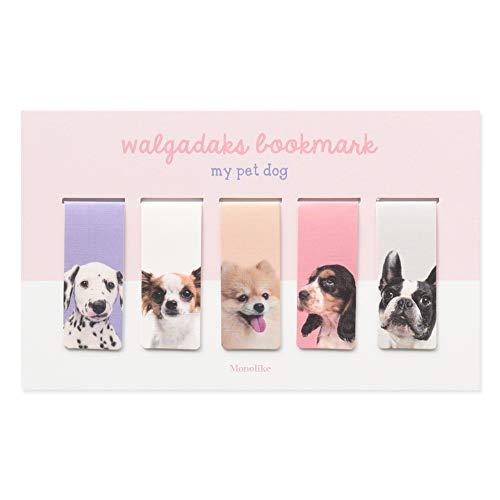 Monolike Magnetische Lesezeichen Mein Haustier Hund, Set 5 Packungsgröße: 3.74x6.1 (IN) Mischen