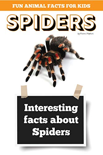 Interesting facts about Spiders: Amazing Spider Picture book