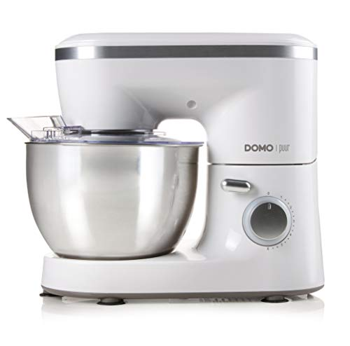 Domo DO9175KR 700W 4L Plata, Color blanco - Robot de cocina