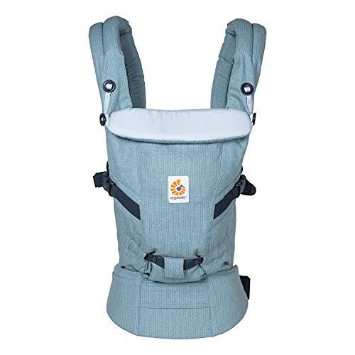 Mochila Portabebe Ergonomico para Recién Nacido a 20kg, Adapt 3-Positiones Heritage Blue