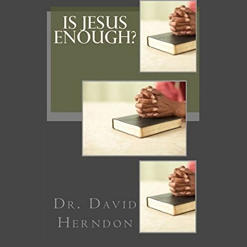 Is Jesus Enough? audiobook cover art