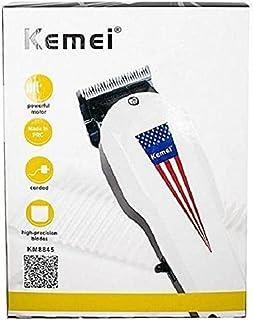 ماكينة العمل الشاق Kemei 8845 لحلاقة وتدريج الشعر واللحية 6 مستويات تعمل بالكهرباء