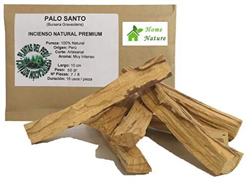BOEMY Palo Santo Natural | 100% Madera Sagrada de Perú | Palo de Santo [100 Usos]. (50 gr.)