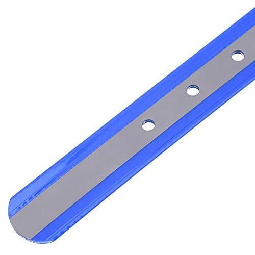 Nannigr Collar Reflectante para Perros, diseño de Tira Reflectante con función Reflectante Collar Impermeable para Perros pequeños medianos Grandes Collar de Perro de Nailon Reflectante(Azul)
