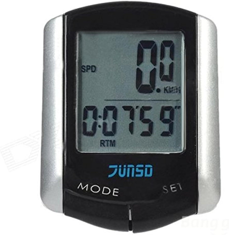 Kyz Kuv 11 Function LCD Wire Bike Bicycle Computer Speedometer Odometer