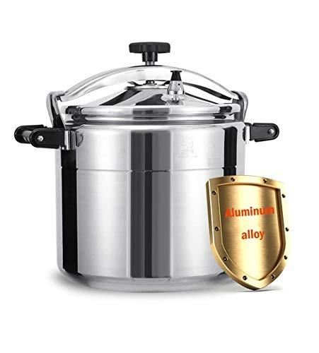 Estufa comercial de aluminio Presión de gas Especial Cocina, 11L-50L espesado grande Capacidad Presión Olla, se puede utilizar for la familia cocinas, hoteles, restaurantes, comedores, escuelas