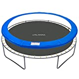 CalmMax Universal Replacement Trampoline Safety Pad - Spring Cover Fits All 12ft Frames - Comfortable, Durable and Water-Resistant