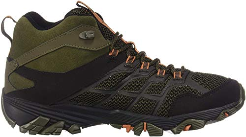 Merrell Moab FST 2 Mid - Zapatillas de senderismo impermeables para hombre