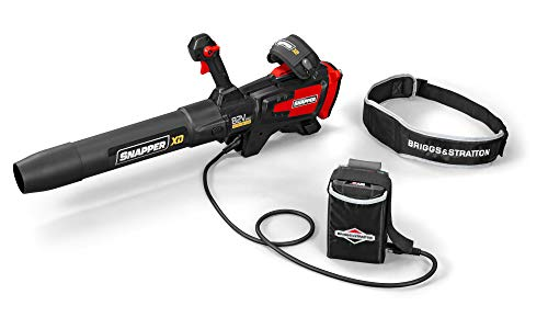Snapper XD 82V MAX PowerGrip Cordless Leaf Blower with 700 Max CFM and (1) 4.0 Battery & (1) Rapid Charger Included