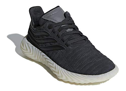 Adidas SOBAKOV J, Zapatillas de Deporte Unisex niño, Gris (Carbon/Negbás/Ftwbla 000), 37 1/3 EU