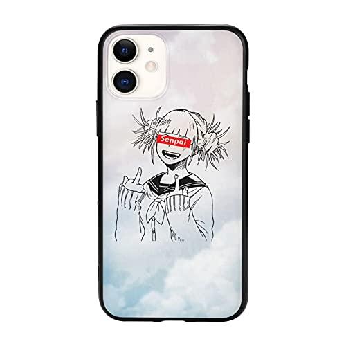 Himiko Toga Senpai(Ahegao Face Senpai Toga Hentai iPhone 11 Case iPhone 11 Pro Case iPhone 11 Pro Max Case Fashion Phone Case TPU Cover