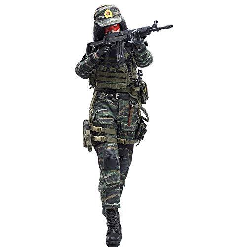 Batop 1/6 Soldat Modell, 12 Zoll Weibliche Soldat Actionfigur Modell Spielzeug Militär Figuren Zubehör - Chinesische Scharfschützin