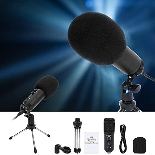 Utmärkt trohet, som ger ett utmärkt utbud av inspelningsmikrofoner för rörelsedator för hemstudio/chatt(Round head, Pisa Leaning Tower Type)