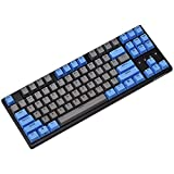 Durgod Taurus K320 TKL Wired Mechanical Gaming Keyboard - 87 Key - Double Shot PBT - NKRO - USB Type C (Cherry Speed Silver,Black)