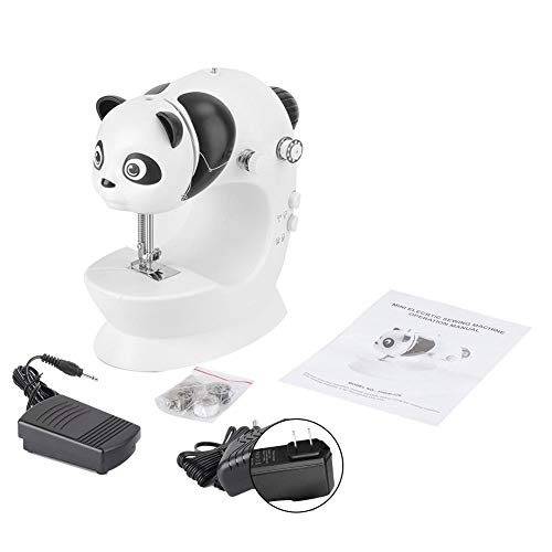 Great Deal! Sewing Machine, Mini Domestic Sewing Machine Multi-Function Thicken Electric Sewing Machine, Mini Desktop Sewing Machine(US Plug)