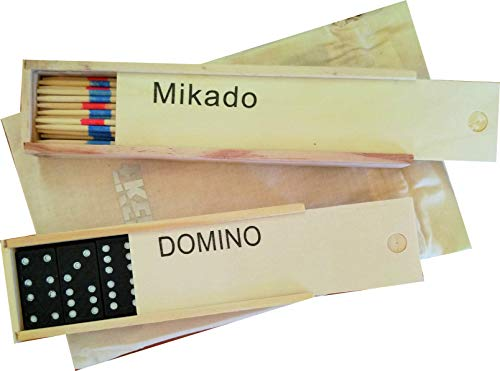 Pack 2 Juegos de Mesa Ekeko Dominó y Mikado. Ekeko Dominoes and...