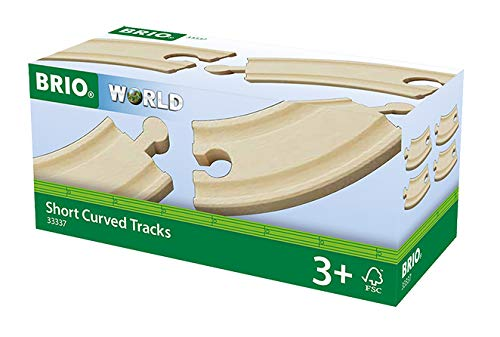 BRIO World Railway Track - Short Curved