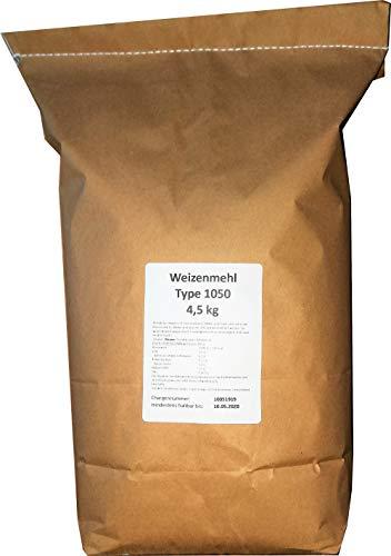 4,5 kg Weizenmehl Type 1050