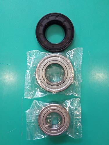 Kit cuscinetti 6206ZZ SKF + 6205ZZ SKF guarnizione para acqua lavatrice 35x62x11/12,5