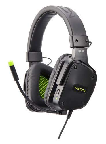 Neon Cuffie Gaming 'Two dots' Multi Piattaforma Speaker HD 40Mm con Quick Control per Volume e Microfono - PlayStation 4