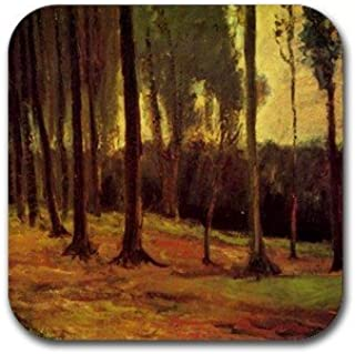 Edge of a Wood By Vincent Van Gogh Square Coasters