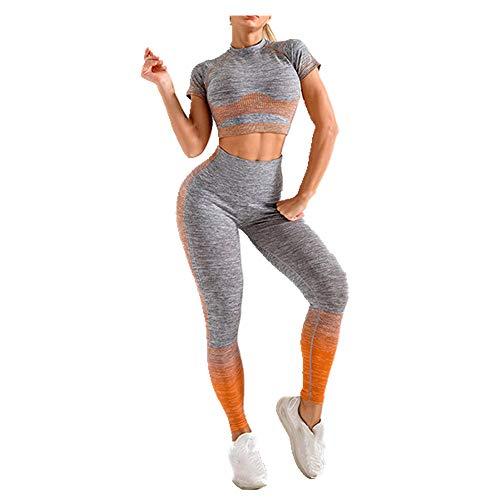 Traje deportivo mujer primavera verano ropa deportiva yoga slim