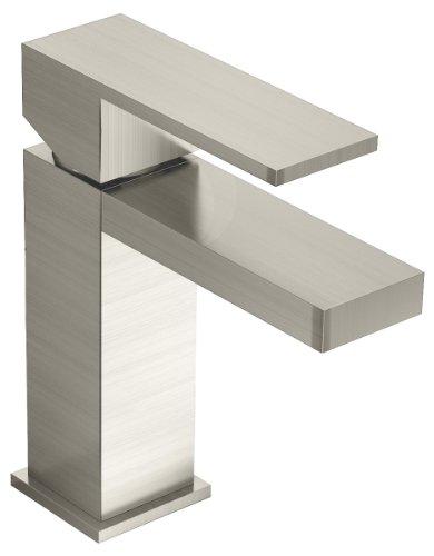 Symmons Duro One-Handle Single Hole Bathroom Faucet, Satin Nickel (SLS-3610-STN-1.5)