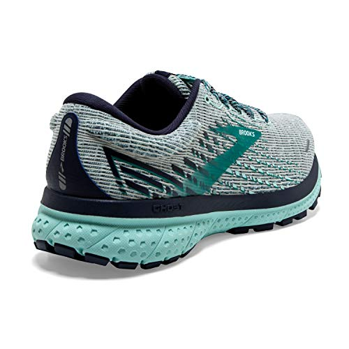 Brooks Ghost 13 Grey/Navy/Parasailing 5 B (M)
