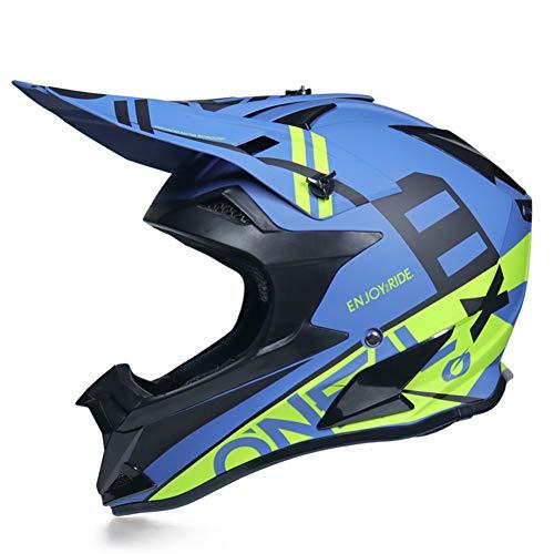 JWL Motorradhelm, Motorrad Crosshelm, Motocross Helm Mit Handschuhe/Maske/Brille,...