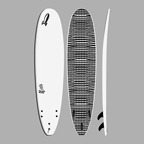 Rock-It 8' Big Softy Surfboard (White)