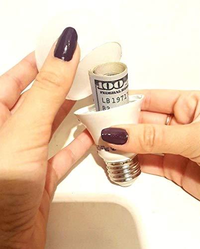 Deals n Sight - Bombilla secreta de luz para el hogar, con foco de conducción