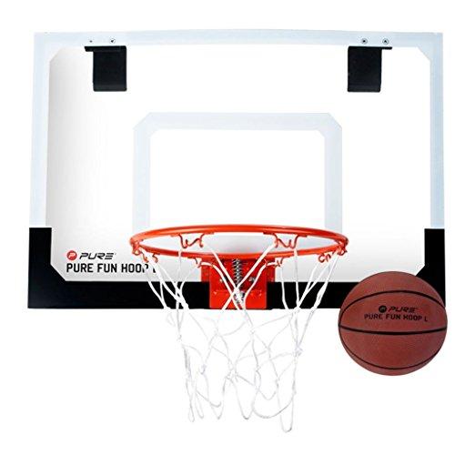 Pure 2Improve Fun Hoop Large, Indoor-Basketballkorb 58x41cm, inkl. 13,5cm Ø Basketball