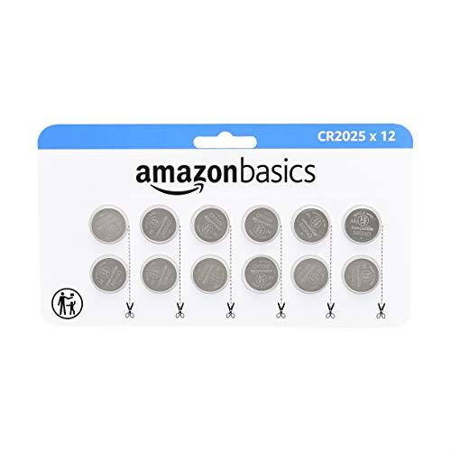 Pilas Cr2025 Boton Marca Amazon Basics
