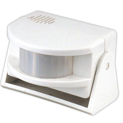 ElectroDH 50618 DH AVISADOR DE VISITAS Y Alarma C/Pila LR09 9VDC (6F22)