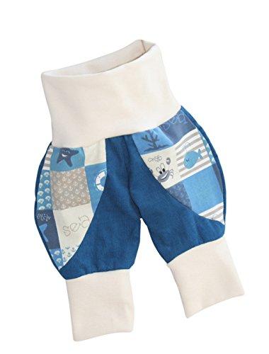 Annsfashion Pantalon Bouffant Pantalon Bébé Pantalon Violet Enfant Cord Pantalon de Travail à Main de qualité Maritim Bleu - Bleu - 62 cm/68 cm